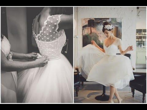 super-sweet-tea-length-wedding-dresses-for-a-retro-bride