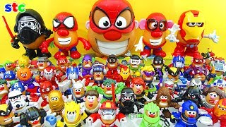 Mr. Potato Head Toys Collection Full Marvel Avengers Transformers