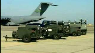 U S  Military Builds Up Base In Qatar