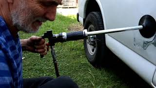 Central Pneumatic Air Dent Puller Hands on Review