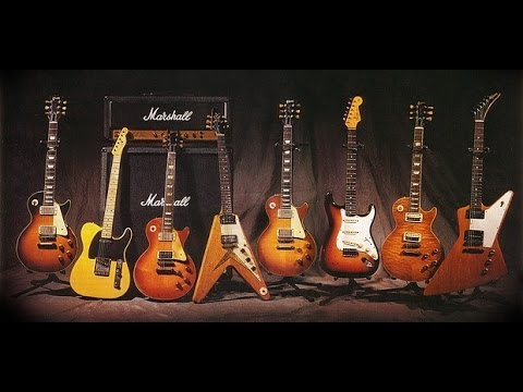 Top 10 mejores guitarras el ctricas gibson vs fender top for Luthier guitarra electrica