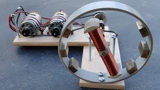 Free Energy Generator Using Two Motors