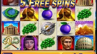 Jackpot Party Casino Slot Machine ROME AND EGYPT BONUS Hits