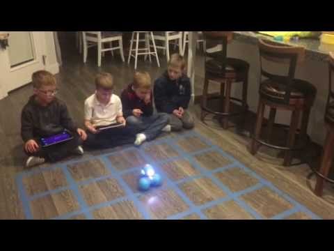 Shadow coders mission 4 with dash and dot