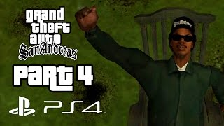 Grand Theft Auto San Andreas PS4 Gameplay Walkthrough Part 4 SWEET'S GIRL (GTA San Andreas PS4)