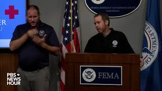 FEMA Officials Provide Updates On Hurricane Florence