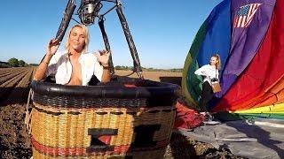 Repeat youtube video Jenny Scordamaglia / Hot Air Balloon Ride Adventure! - Miami TV
