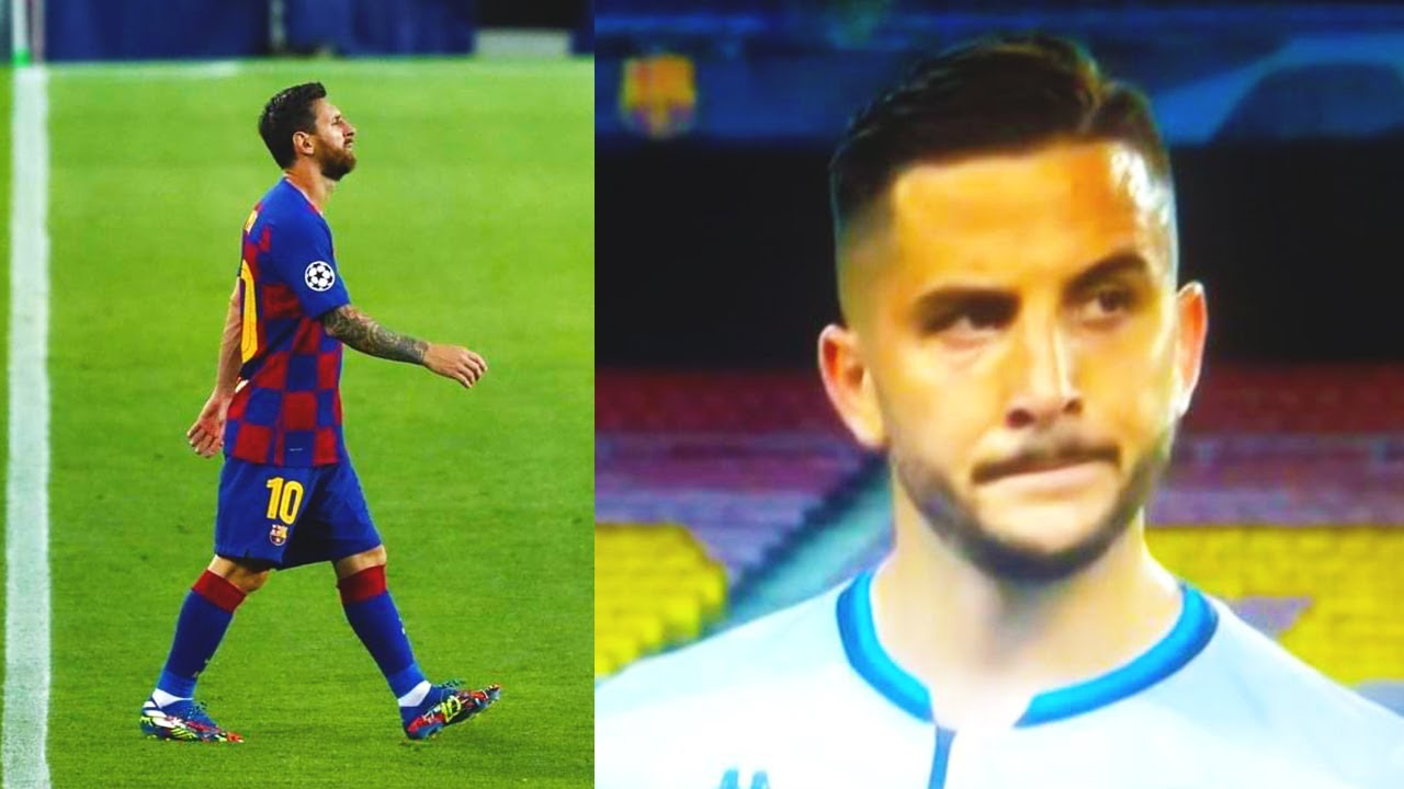 То, что сделал МЕССИ после матча с Наполи обсуждает ВЕСЬ МИР! Месси vs Манолас! Барселона - Наполи