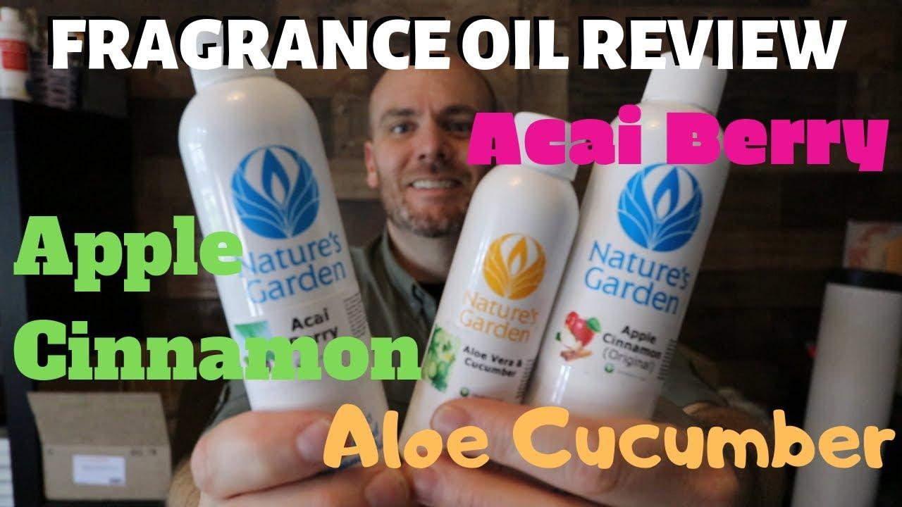 Natures Garden Fragrance Oil Review Acai Berry Aloe Cucumber