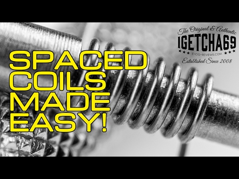 Spaced Coils Made Easy!