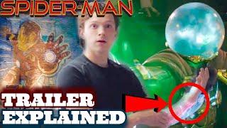 Spider-Man Far From Home Trailer Breakdown + Easter Eggs