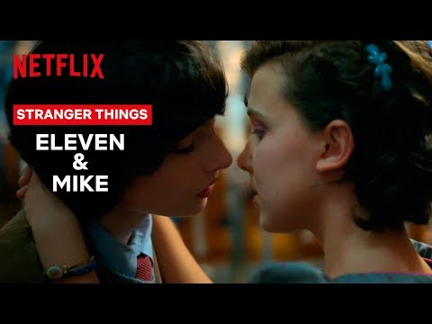 Eleven and Mike's Love Story | Stranger Things | Netflix