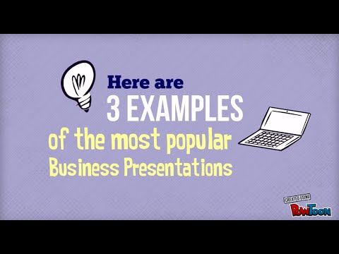 Business Presentation Example - by Powtoon - YouTube
