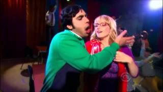 Raj dreaming about Bernadette