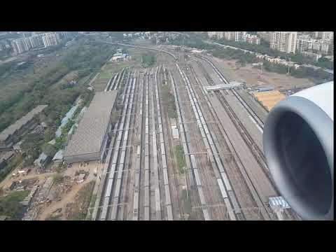 Landing at Mumbai Airport