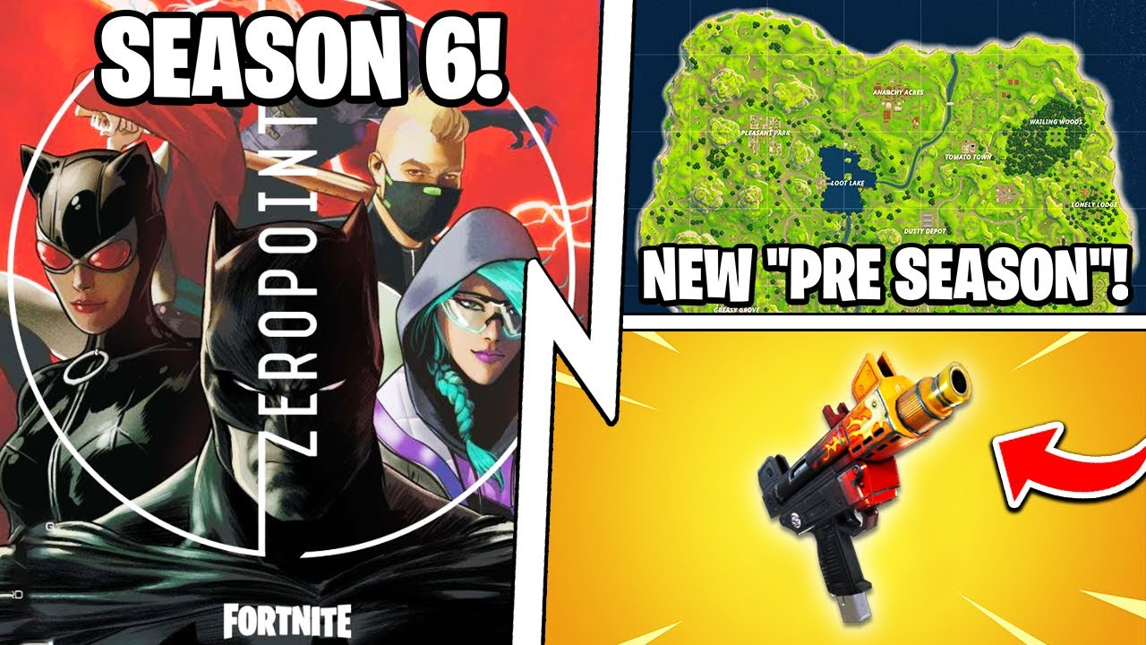 Season 6 BATMAN Battle Pass, FREE Skins All Season, Pre Season Mode!