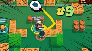 Boy In The Bubble | Brawl Ball Trickshots And Epic Goals #9