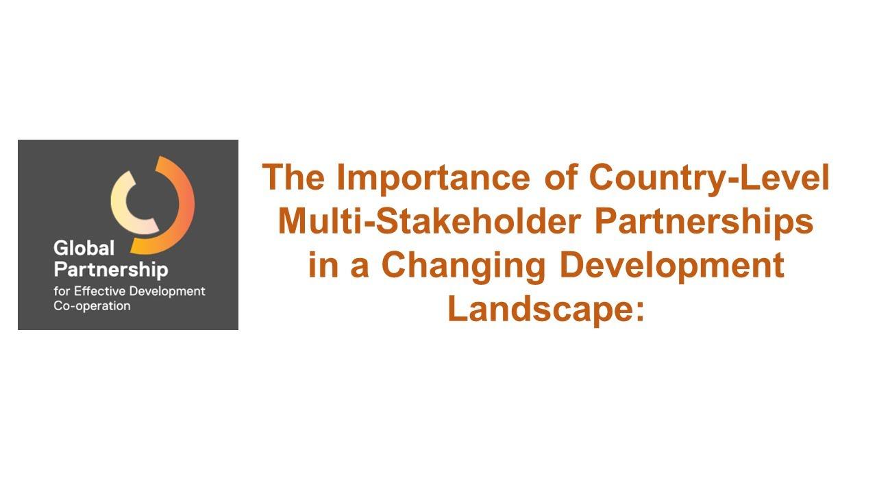 Meet the Leadership – Global Partnership for Effective