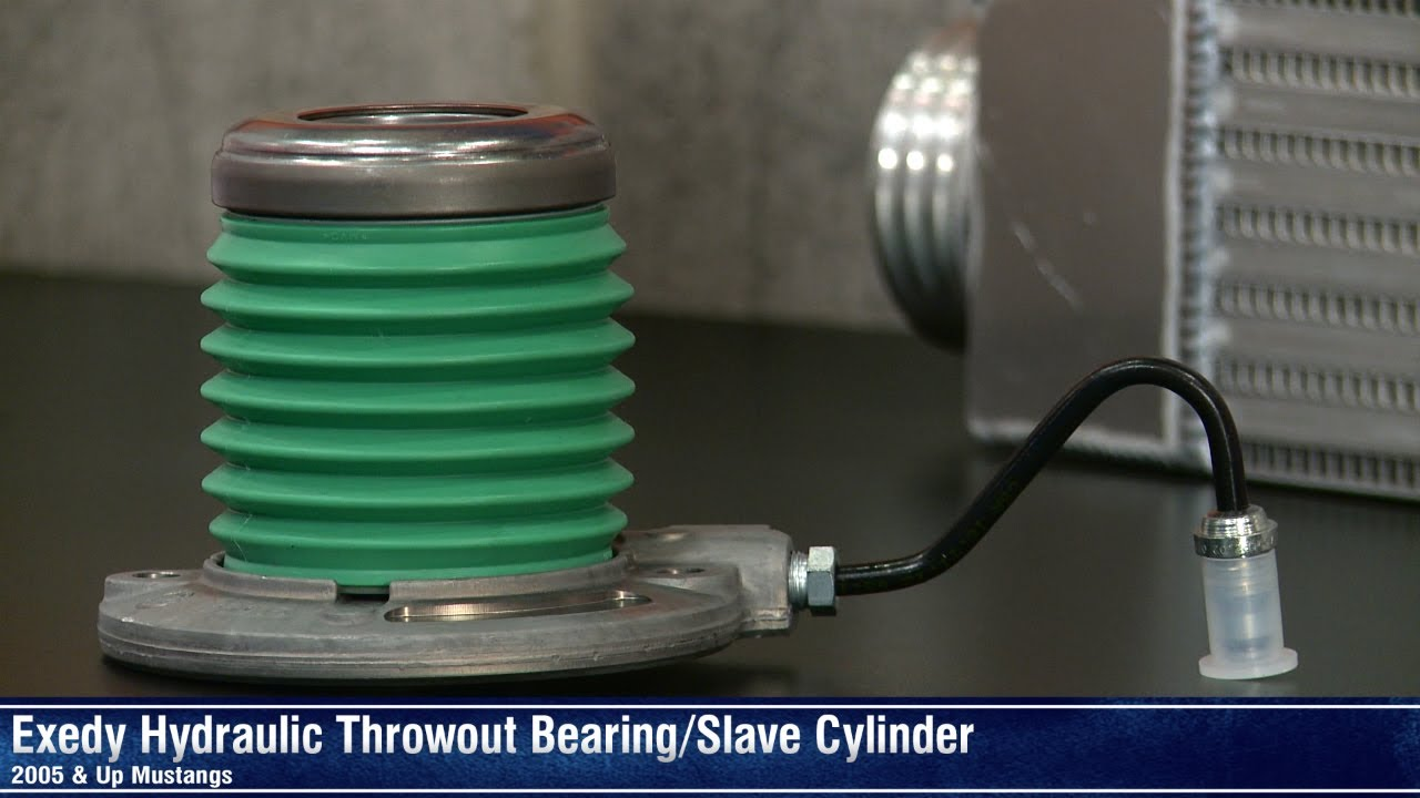 mustang exedy hydraulic throwout bearing slave cylinder (05 14 gtmustang exedy hydraulic throwout bearing slave cylinder (05 14 gt, v6) review youtube