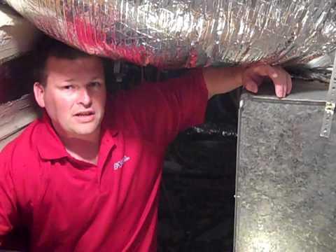 A #1 Air Conditioning - Return plenum