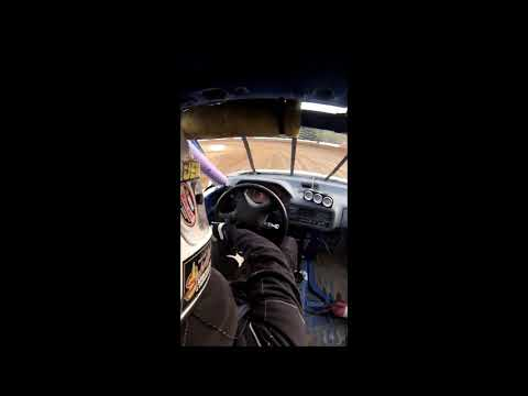 Coos Bay Speedway 10-7-17 Hornet Heat Race #2 car #3 in cab