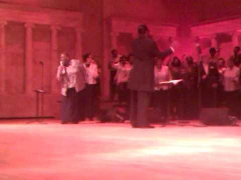 Toledo Interfaith Mass Choir featuring soloist Tow