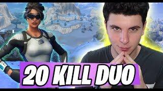 20 DUO KILL with Mia skin PREFER! - Fortnite ITA