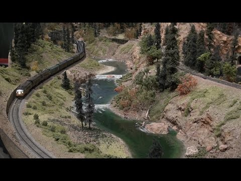 Southern Pacific at the Colorado Model Railroad Museum Part 2 of 3
