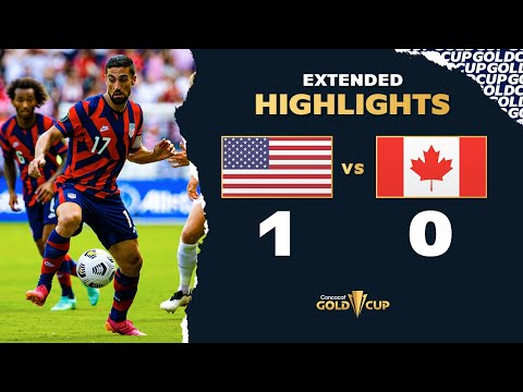 Extended Highlights: USA vs Canada – Gold Cup 2021