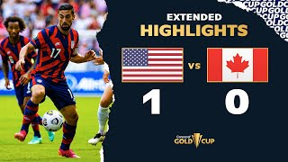 Extended Highlights: USA vs Canada - Gold Cup 2021