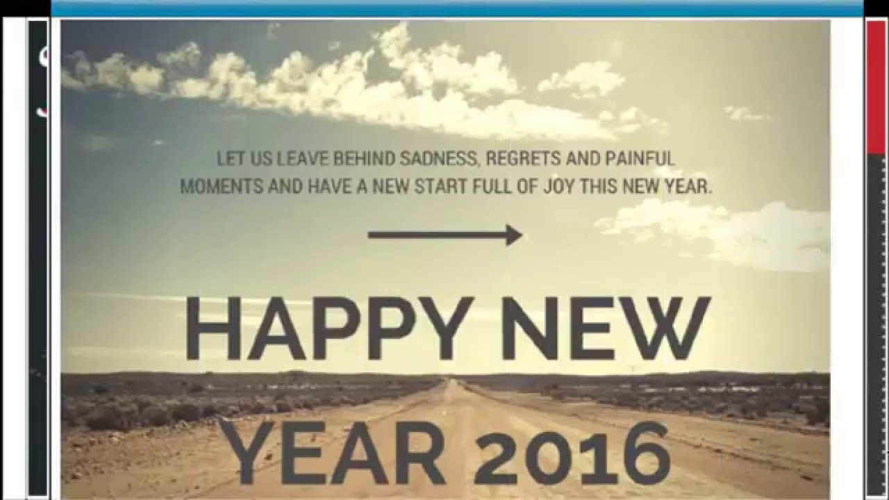 Wish You Happy New Year 2016 Happy New Year Whatsapp Videos and ...