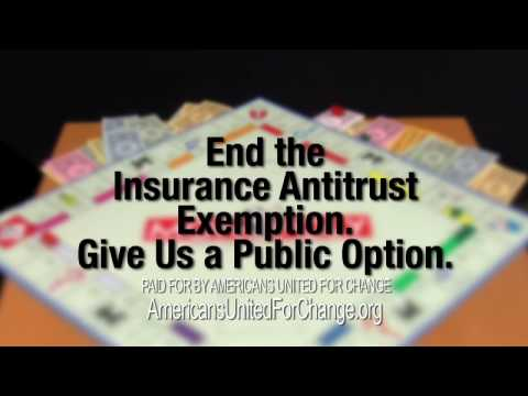 """MONOPOLY"": End Insurance's Antitrust Exemption"