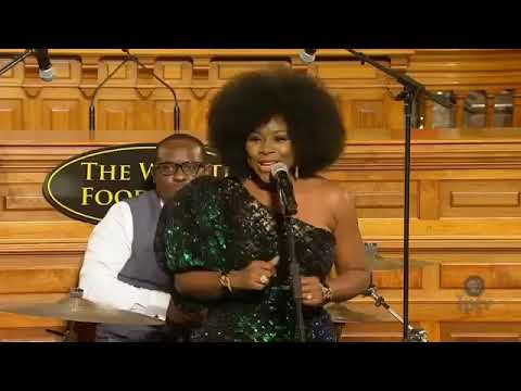 Omawumi at 2017 World Food Prize
