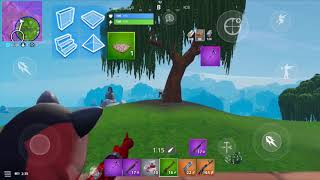 mobile Fortnite montage 4 fingers gameplay | a fortnight on your phone | 4 finger | twisting 90 on your phone