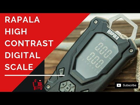 Best Scale - Rapala High Contrast Digital Scale - Fishing