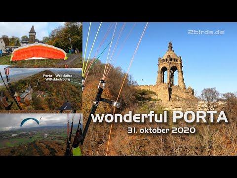 Wonderful Porta Westfalica - grandiose Herbstimpressionen - anspruchsvoller Startplatz