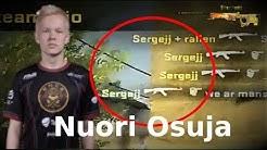 "Jere ""Sergej"" Salo - 16 VUOTIAS NUORI OSUJA!   CS:GO"