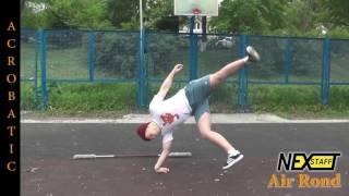 Фаер-шоу. Уроки Шест (Spin Staff) стиль Acrobatic - Air Rond