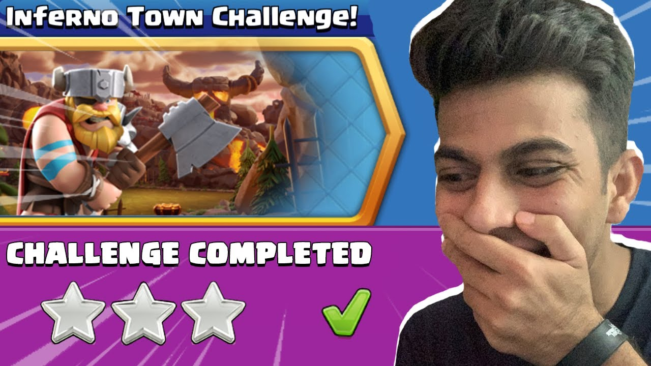 Supercell Gave us Impossible Challenge - Inferno Town Challenge Clash of Clans - COC