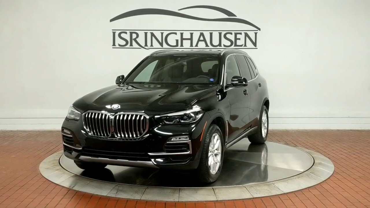 2020 Bmw X5 Xdrive40i Black