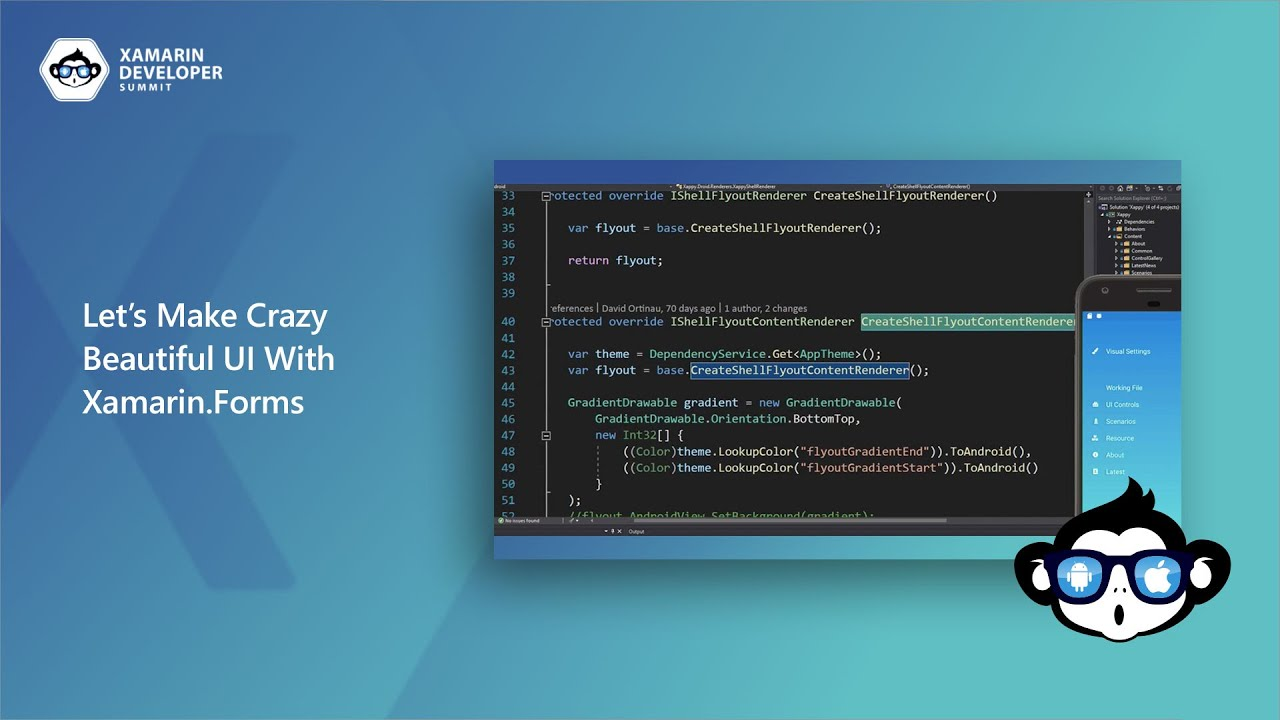 Let's Make Crazy Beautiful UI With Xamarin Forms | Xamarin Developer Summit