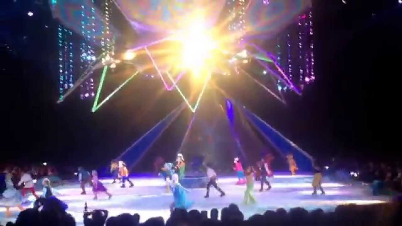 Disney on ice frozen TD Garden February 142015 YouTube