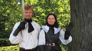 Видео курс по фехтованию(Видео курс по фехтованию на тяжелой сабле от студии европейского историко-сценического фехтования