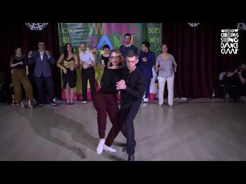 Evgeny Sherstnev & Daria Belokurova at Blues JnJ Finals. MXDC 2018