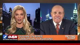 """OAN Rudy Giuliani: """"Joe Biden is guilty of prima facie bribery."""""""