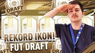 MÓJ REKORD IKON W DRAFCIE! | FIFA 19 | JUNAJTED