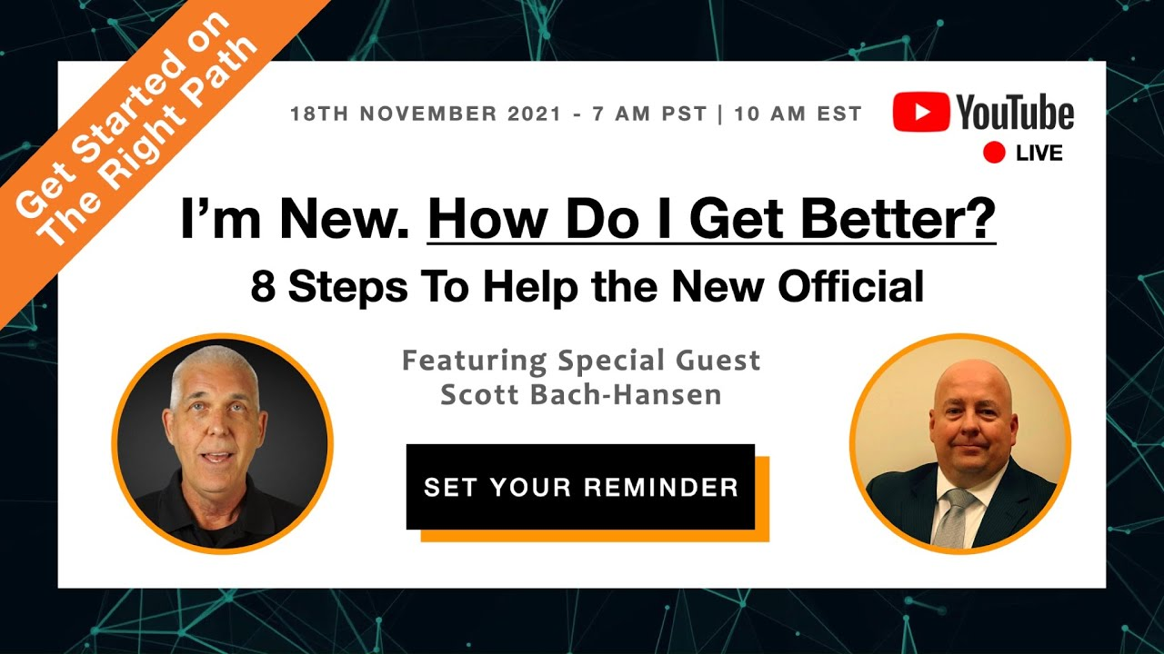Download Voice in the Game Series: Scott Bach-Hansen on How to Get Better as a New Official
