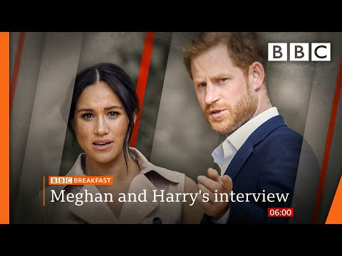 Oprah interview: Racism claims, Harry 'let down' by dad, and Meghan on Kate 🔴 @BBC News live - BBC