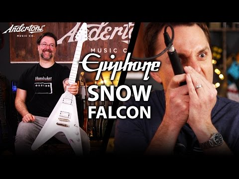 """Chaptain Half - with their debut single """"Snow Falcon"""" (Epiphone Snow Falcon Review)"""