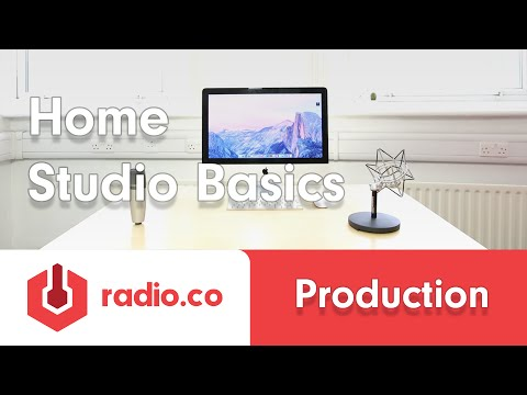 How To Setup A Radio Studio: The Basics